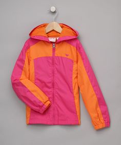 Take a look at this Fuchsia Hooded Jacket - Toddler & Girls on zulily today!