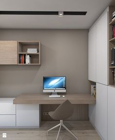 Leading 10 Stunning Home Office Design Home Office Closet, Home Office Setup, Home Office Chairs, Home Office Space, Home Office Design, House Design, Home Office Furniture Sets, Interior Architecture, Interior Design