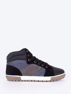 Bascheti barbati RXR inalti negru si gri Barbie, Adidas, Interior Design, Sneakers, Shoes, Fashion, Nest Design, Trainers, Moda