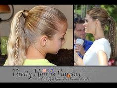 How To: Twin Braid Ponytail {Maria Menounos Inspired} | Pretty Hair is Fun - YouTubeBraid Hairstyles, Braids, braids tutorial, braids for short hair, braids for short hair tutorial, braids for long hair, braids for long hair tutorials... Check more at http://app.cerkos.com/pin/how-to-twin-braid-ponytail-maria-menounos-inspired-pretty-hair-is-fun-youtube/