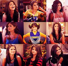 I looove Selena Gomez and Alex Russo!(: