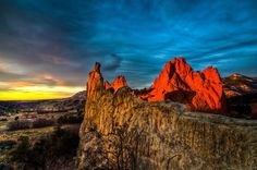 Garden of the Gods | 20 Colorado Places That Will Literally Take Your Breath Away. Right in my backyard-need to go!