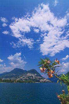 Lugano, Ticino, Switzerland.