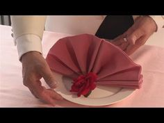Have you ever wanted to get good at napkin folding, dining etiquette. Linen Napkins, Cloth Napkins, Paper Napkins, Cloth Napkin Folding, Paper Folding, Folding Napkins, Fancy Party, Tea Party, Table Place Settings