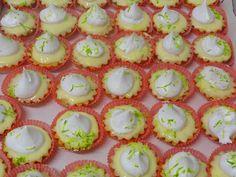 mini tortalete de limão. A mais pedida da POLOS paes e doces