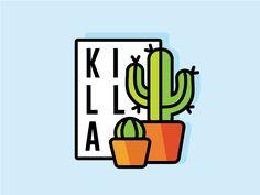 Cactus Killa - 2 by Samantha Lopez
