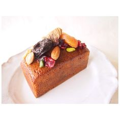 Cake aux fruits フルーツケイク  今年のクリスマスにむけてイメトレ。 Fruits cake