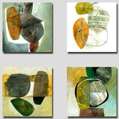 Jane Davies collage journeys: Smaller Groupings