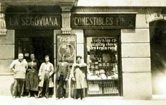 Calle Huertas 57 en Madrid, actual Café Fídula. Foto: Mar Rodrigo - Portal Fuenterrebollo