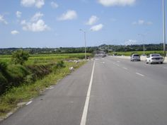 Completed Road Works At The Belle Junction