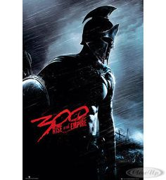 300: Rise of an Empire Poster Blauer Soldat  Available on www.closeup.de