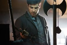 GRIMM -- La Llorona Episode 209 -- Pictured: David Giuntoli as Nick Burkhardt -- (Photo by: Scott Green/NBC)