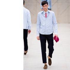 Burberry Prorsum - The Spring 2014 Menswear Trend Report