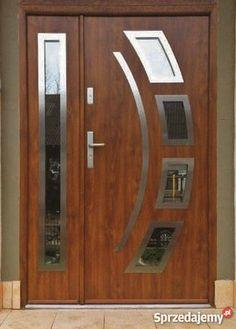 House Gate Design, Door Gate Design, Room Door Design, Door Design Interior, Modern Exterior Doors, Wood Exterior Door, Modern Wood Doors, Wooden Front Door Design, Wooden Front Doors
