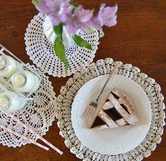 cherry pie #ricetteaquadretti #thisishome
