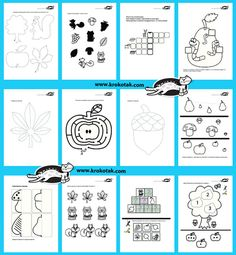printable activities for Autumn