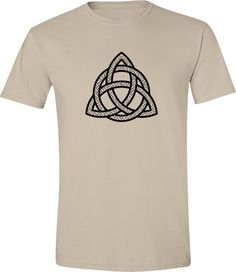 Mans Celtic T-shirt  hipster tshirt celtic symbol by EdifyClothing