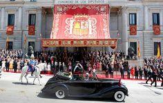 El acto de proclamación de Felipe VI costó 132.036 euros a las Cortes Generales - Público.es