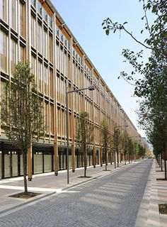"""Renzo Piano Building Workshop - Projects - By Type - """"Le Albere"""" area"""