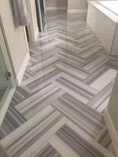 Image for Venatino grey vein cut tiles tiles Floor Design, Tile Design, Marble Design Floor, Marble Floor, Tile Floor, Marble Tiles, Black And White Flooring, Entryway Flooring, Rustic Wood Floors