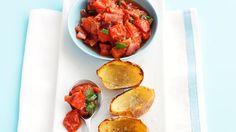 Potato skins with tomato salsa recipe - 9Kitchen