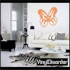 Butterfly Wall Decal - Vinyl Decal - Car Decal - CF103