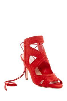 Leila Wraparound Lace Sandal