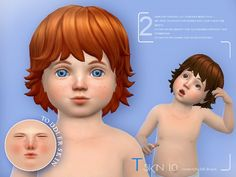 The Sims Resource: WMLL ts4 T skin by S-Club • Sims 4 Downloads