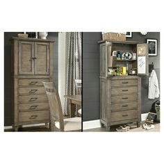 Brownstone Pantry Cabinet.