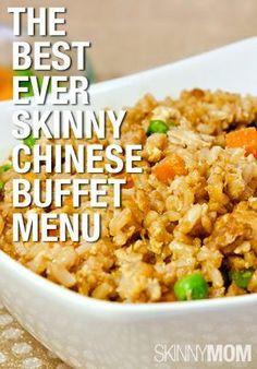 Orange General's Chicken, Chinese BBQ Turkey Wraps, Skinny Shrimp Stir-fry, Sweet and Sour Chicken