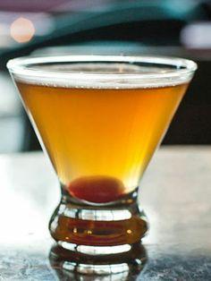 Bourbon Cocktails You've Got To Try - Midnight Manhattan http://www.cosmopolitan.com/food/cocktails/bourbon-cocktails?click=cos_more#slide-11