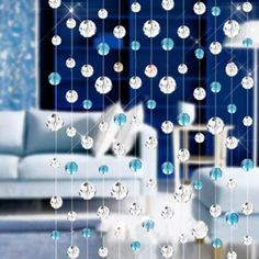 PersuingTech Fashion Luxury K9 Crystal Bead Curtain Home Living Room Bedroom Decor -- Awesome products selected by Anna Churchill