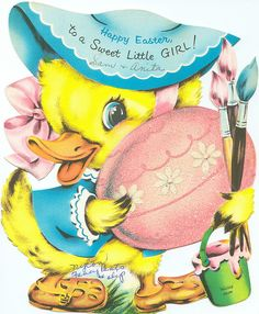 Happy Easter to a Sweet Little Girl
