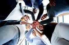 Concept of teamwork by Stefan & Janni on Creative Market