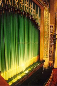 Love the old fashioned stage...might just make a puppet theater/performance stage scaled down, but very similar to this.