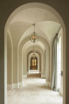 Architect Portfolio by Harrison Design - Dering Hall Country Hallway, Country Decor, Steel Frame Doors, Harrison Design, Home Design Magazines, French Style Homes, California Homes, Southern California, Wood Beams