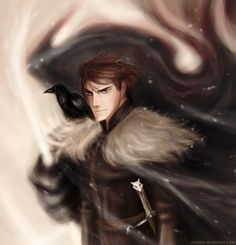 Jon Snow by *Arbetta on deviantART