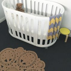 This Jute Laurent Rug is the perfect size for a nursery!  ps. you can save 15% on this rug and more with our stocktake sale. The sale finishes on the 31st though so don't miss out!  #harrisonandco #harrisonandcostyle #interiordesign #nursery #nurserydecor  #jute #juterug #interiorstyling #pocketofmyhome