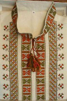 Ukraine, from Iryna Types Of Stitches, Palestine, Costume Design, Cross Stitching, Creative Design, Ukraine, Embroidery Patterns, Men Dress, Needlework