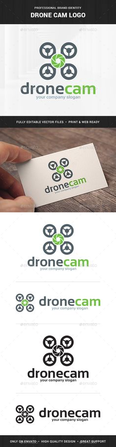 Drone Cam  - Logo Design Template Vector #logotype Download it here: http://graphicriver.net/item/drone-cam-logo-template/10427748?s_rank=229?ref=nexion
