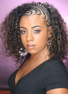 braiding hair styles for girls jheri curl hairstyles for jheri curl bobs 9606 | 42b39ee9606f01bc8b17f2c6b295bb81 black hair braids braids and curls