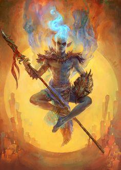 The Elder Scrolls,фэндомы,TES art,Vivec,Morrowind