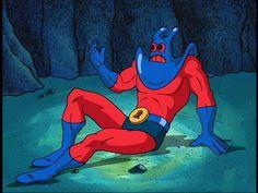 Man Ray from Spongebob Squarepants