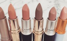 Finding that perfect shade of lipstick can be a challenge, especially when there are so many to choose from. Here are the best nude lipsticks we could find! Mac Lipstick Dupes, Lipstick Art, Best Lipsticks, Lipstick Shades, Lipstick Colors, Liquid Lipstick, Matte Lipsticks, Waterproof Lipstick, Lip Colors
