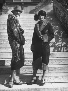 1920s street style - photos by the Seeberger Freres agency