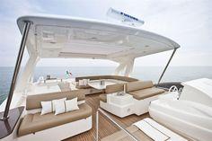 External view Ferretti Yachts - Ferretti 800 #yacht #luxury #ferretti