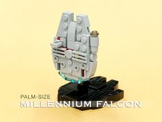 Hello everyone. I created a small Millennium Falcon. Small Millennium Falcon…