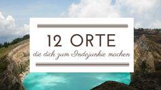 12 Orte in Indonesien