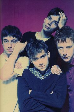 Oasis may have won the battle of Britpop, but Blur won the war. Still going strong, whenever they feel like selling out a festival, a park or a stadium! Music Film, Indie Music, Music Icon, Damon Albarn, Jamie Hewlett, Blur Band, Charlie Brown Jr, Britpop, Song One