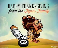 Flyers happy thanksgiving.